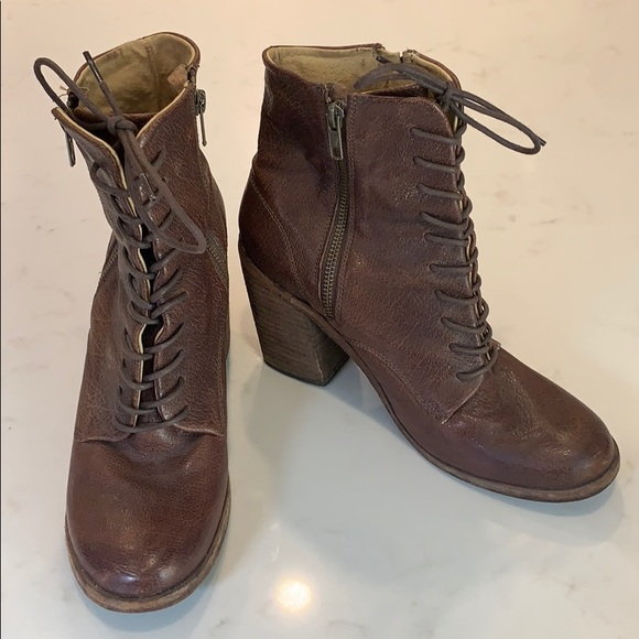 Frye high cut ankle boots size 9.5